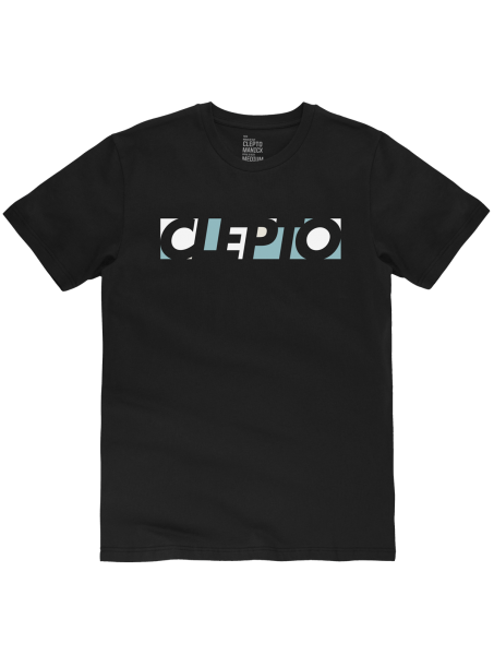 CLEPTOMANICX - BLOCKS Shirt black