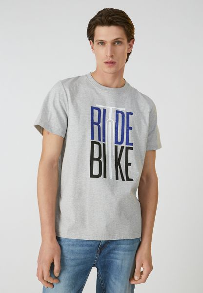 AADO RIDE BIKE T-Shirt grey melange