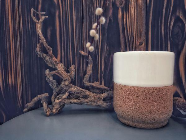 ALMA GEMEA - PERLE CUP Tee-Kaffeetasse kork