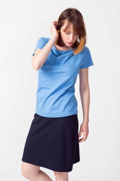 SKFK - BAT Basic Shirt B5 sky blue