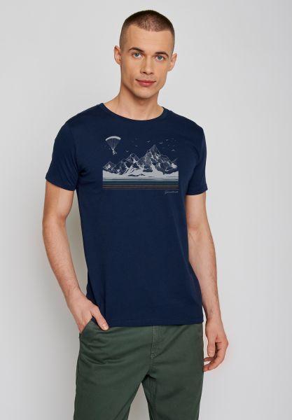 GREENBOMB - BIKE FLY Guide T-Shirt heather black