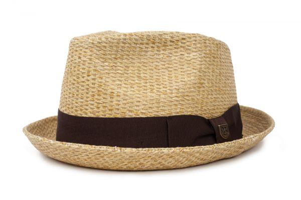 BRIXTON - CASTOR FEDORA Hut tan stripe