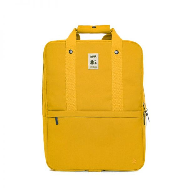 LEFRIK - DAILY BACKPACK Rucksack mustard