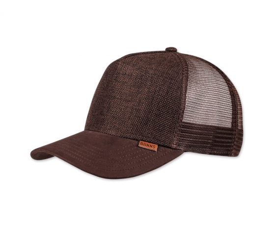 TRUCKER CAP HFT Suelin darfk brown