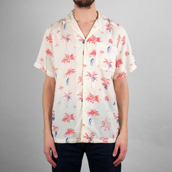 DEDICATED- Shirt Short Sleeve Marstrand Monkey Trees