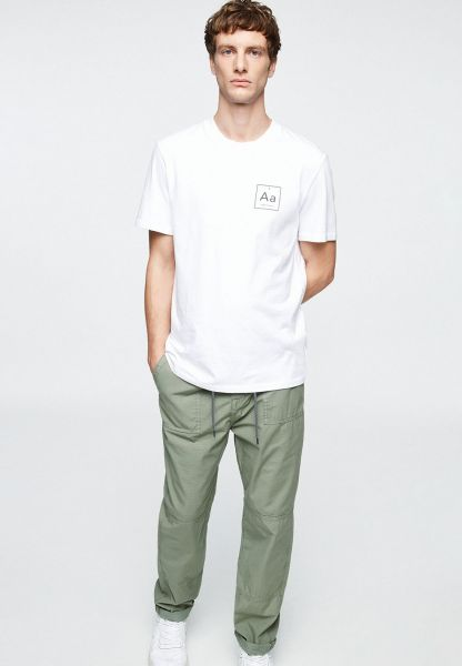 ARMEDANGELS - PAAVEL CHINO Hose light green olive