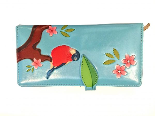 SHAG WEAR - BIRD Portemonnaie blue