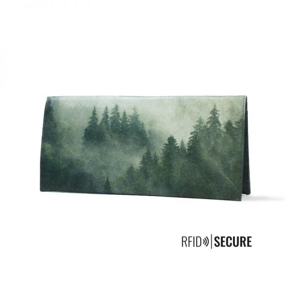 PAPRCUTS - FOGGY MORNING RFID SECURE Portemonnaie XL