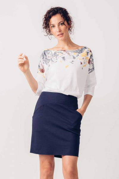 SKFK - SORGIN SKIRT Rock BX navy