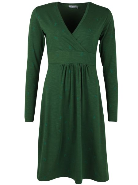 DANEFAE - ORGANIC BETH DRESS Kleid dark army
