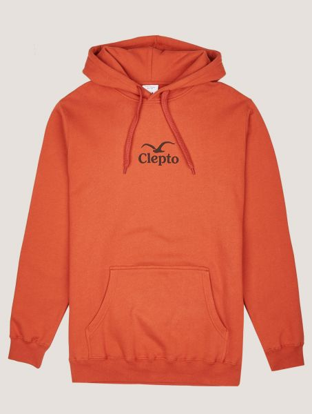 CLEPTOMANICX - C.I. HOODIE Kapuzenpullover cinnamon stick