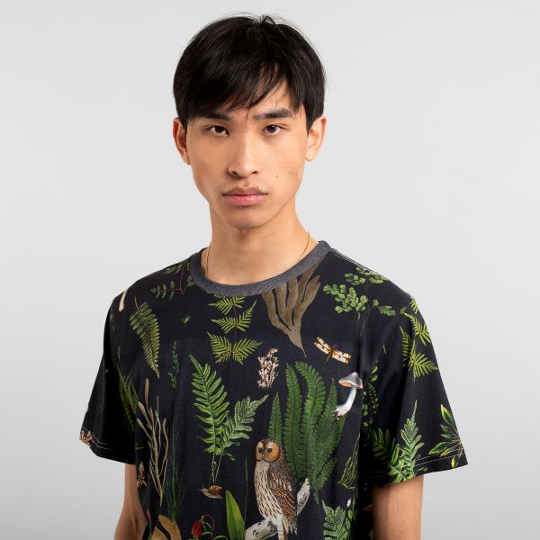 DEDICATED - SECRET GARDEN Stockholm Shirt multi color