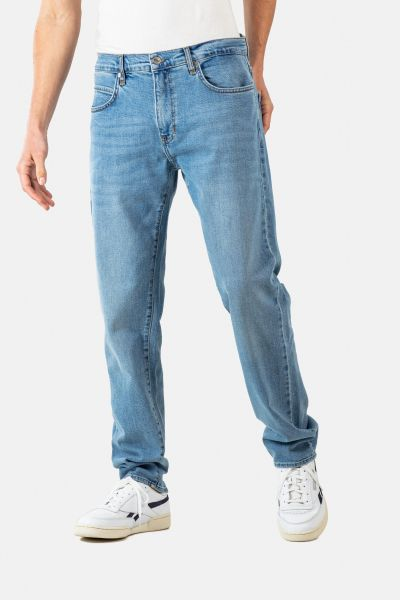 REELL - BARFLY Jeans light blue stone