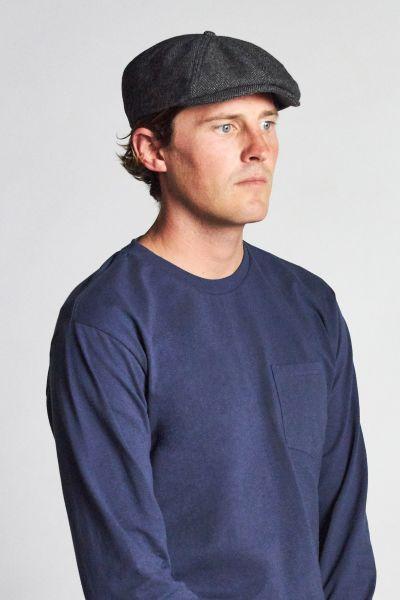 BRIXTON - BROOD SNAP CAP grey/black