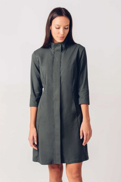SKFK - KORA DRESS Kleid G9 dark green