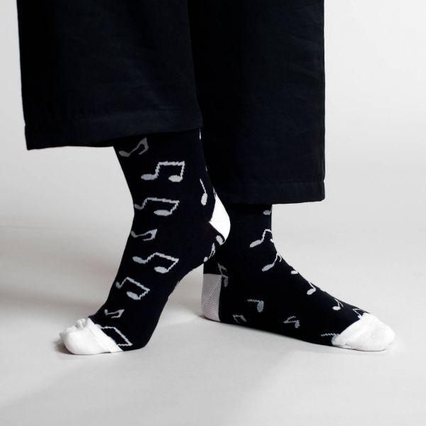 DEDICATED - SIGTUNA SOCKS NOTES Damensocken black