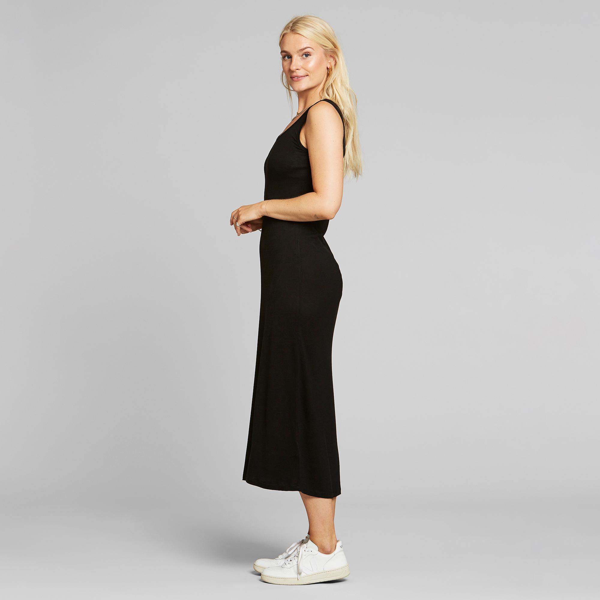 DEDICATED-KRISTINEHAMN-DRESS-Kleid-black-2