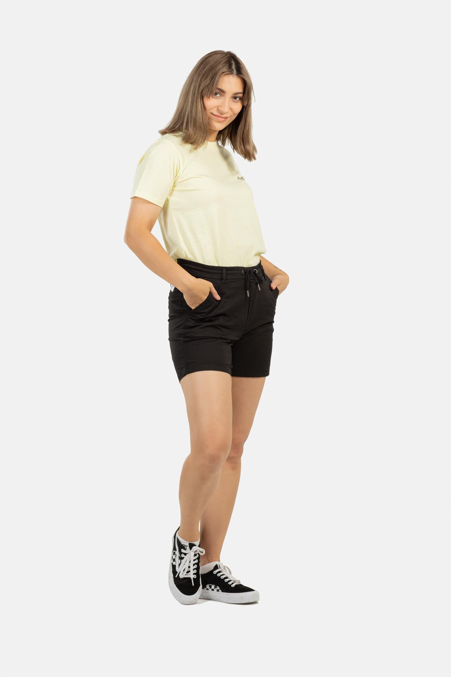 REELL-REFLEX-WOMEN-LW-EASY-SHORT-Kurze-Hose-black