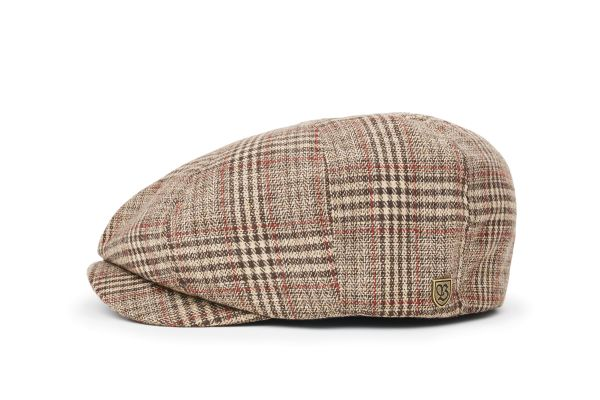 BRIXTON - BROOD SNAP CAP Mütze khaki plaid