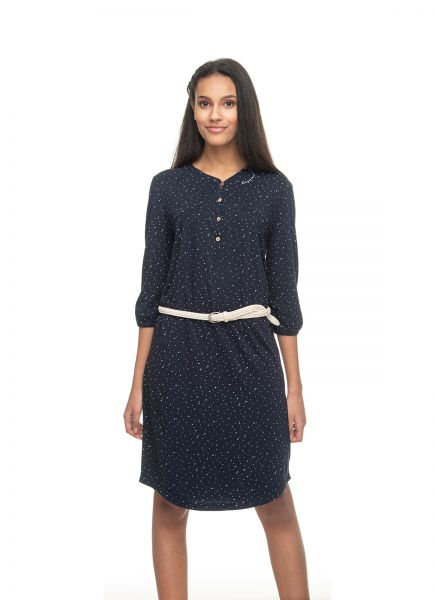 RAGWEAR - ZOFKA DRESS ORGANIC Kleid navy