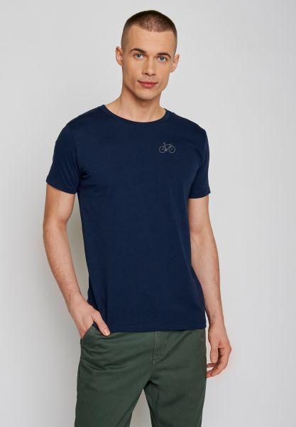 GREENBOMB - BIKE SOLO Guide T-Shirt navy