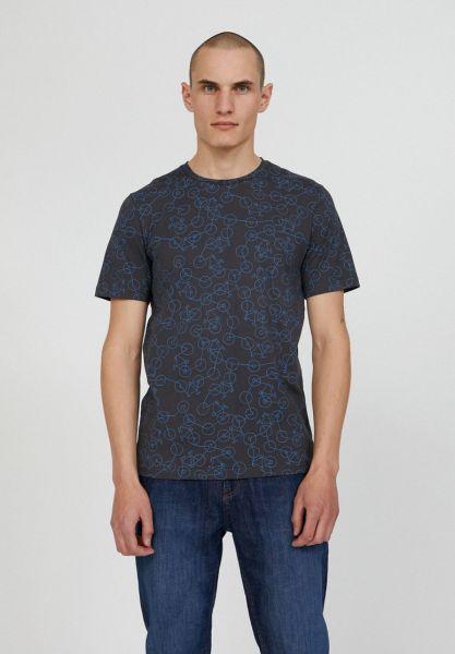 ARMEDANGELS - JAAMES MINI BIKE CHAOS T-Shirt acid black
