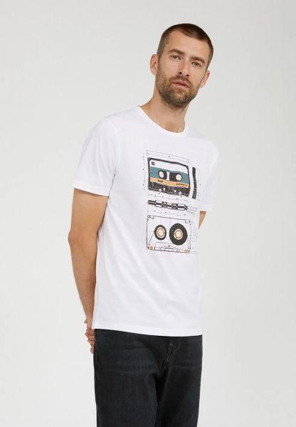 ARMEDANGELS - JAAMES CASETTE T-Shirt white