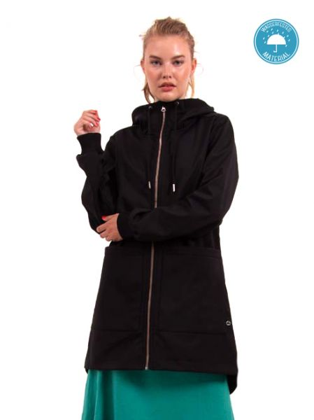 DANEFEA - LAURA SOFTSHELL Jacke black