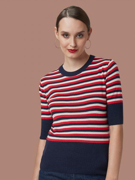 MADEMOISELLE YEYE - I GOT STRIPES Knit top Shirt stripes blue/white/red