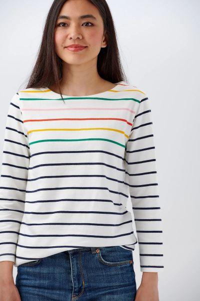 SUGARHILL BRIGHTON - BRIGHTON JERSEY TOP Shirt off-white seaside stripe