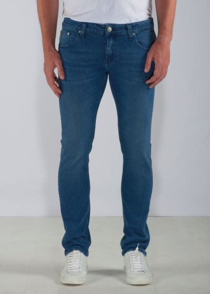 MUD JEANS - SLIM LASSEN Jeans pure blue