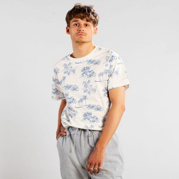 DEDICATED - RIVIERA BIKES Stockholm T- Shirt white