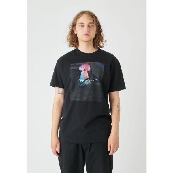 CLEPTOMANICX - DOG DRIVER T-Shirt black