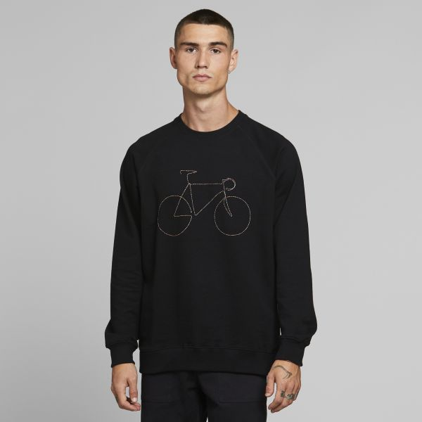 DEDICATED - MALMOE RAINBOW BICYCLE Sweatshirt black