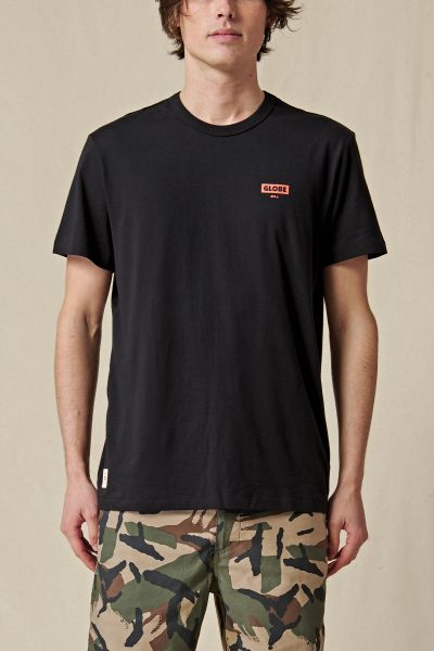 GLOBE - LIVING LOW VELOCITY T-Shirt black