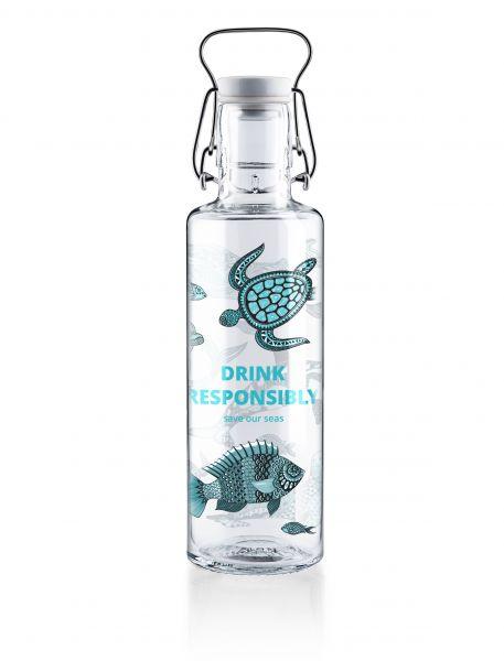 SOUL BOTTLES - DRINK RESPONSIBLY Trinkflasche 0,6l