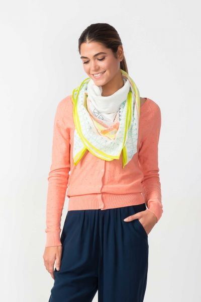 SKFK - BOGA SCARF Schal lime yellow