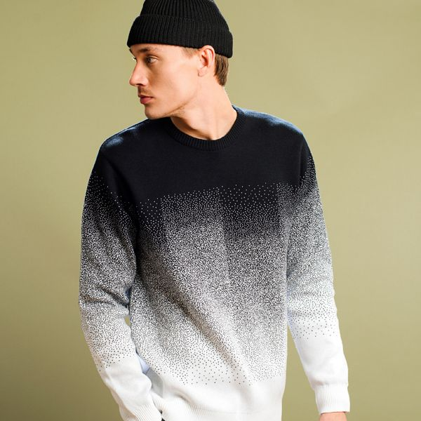 DEDICATED - MORA ENAMEL PIXEL FADE Sweatshirt black