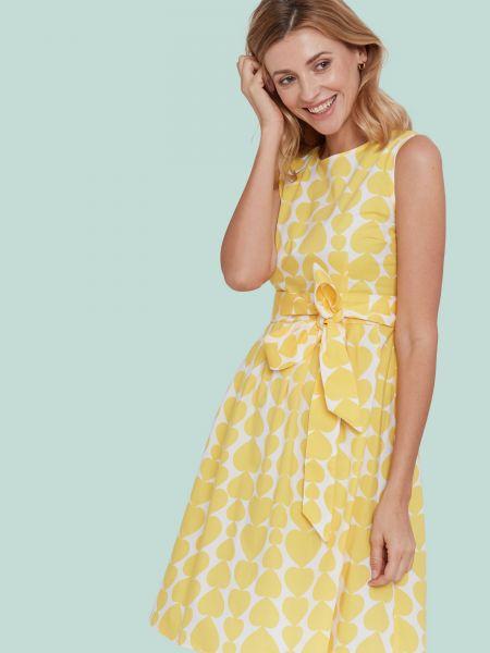MADEMOISELLE YEYE - NON STOP DANCING Kleid/ Dress Heartbeat yellow