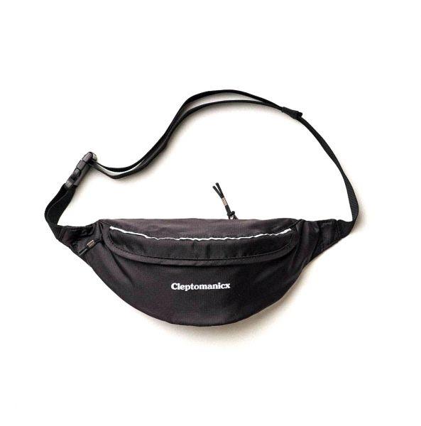CLEPTOMANICX - MEGA REFLECTIVE HIPBAG Tasche black