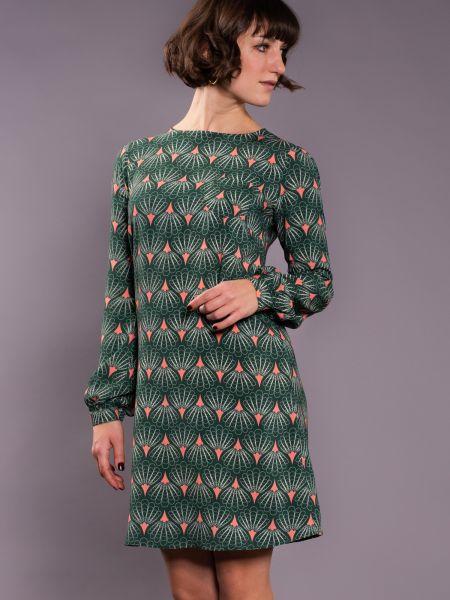 MADEMOISELLE - ART LOVER Dress green
