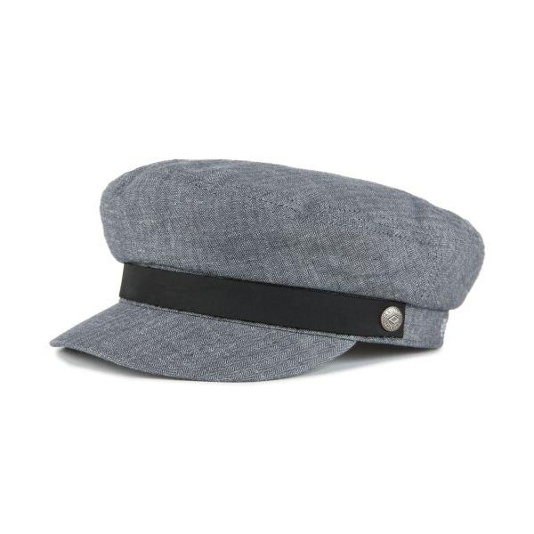 BRIXTON - FIDDLER CAP Mütze middle grey