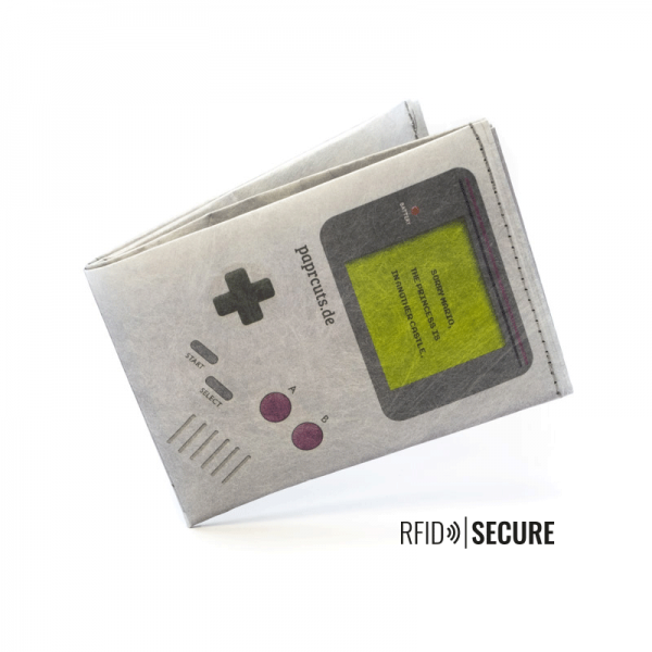 PAPRCUTS - GAME BOY RFID SECURE Portemonnaie