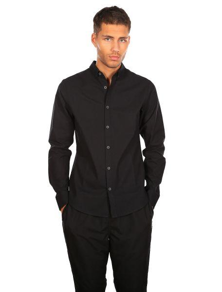 IRIE DAILY - SAMUEL LS SHIRT Hemd black