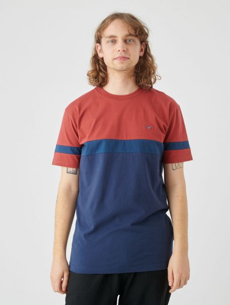 CLEPTOMANICX - DEKKER T-Shirt rosewood