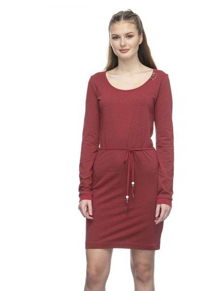 RAGWEAR - PELIADA ORGANIC Kleid red