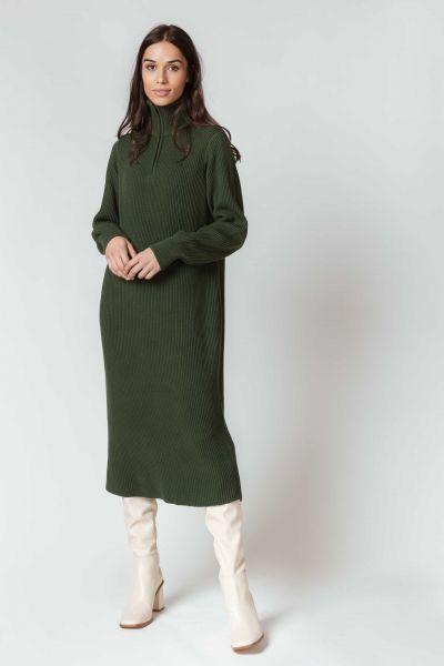 SKFK - GERGORE DRESS Kleid G9 dark green