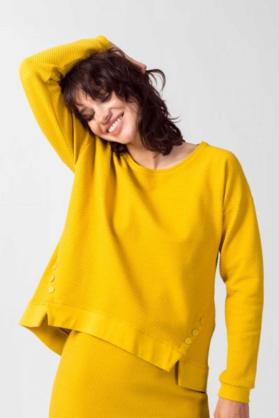 SKFK - EKILORE SWEATER Pullover Y6 yellow curry