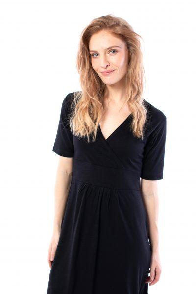 DANEFAE - WONDERFUL DRESS Kleid black