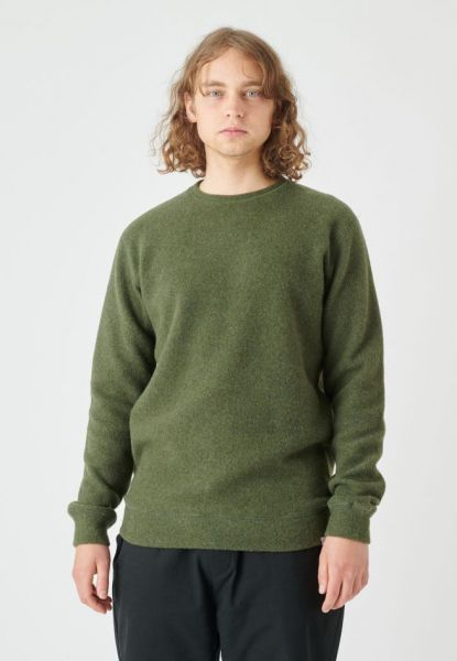 CLEPTOMANICX - NOITCH Wollpullover thyme